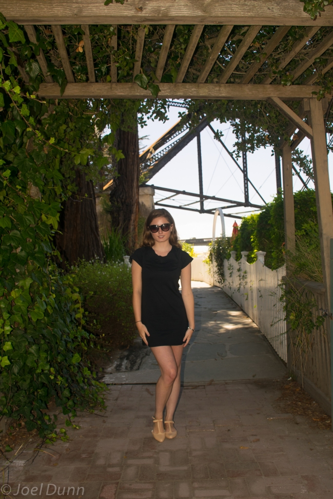 Capitola Trestle, Bow Flats, Little Black Dress, Sunglasses, Sterling Silver Watch