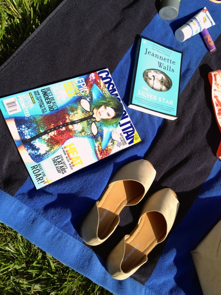 Shoes and summer reading ideas.
