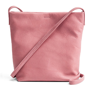 Baggu Cross Body Purse Blush
