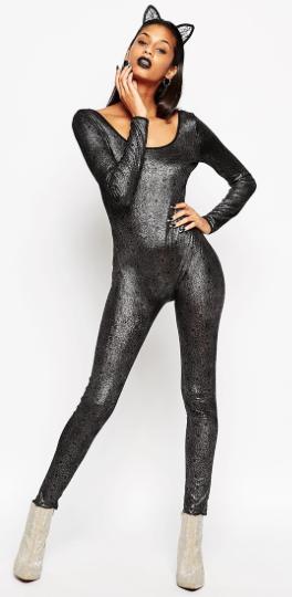 ASOS spider web catsuit