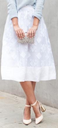 Late Afternoon Midi Skirts