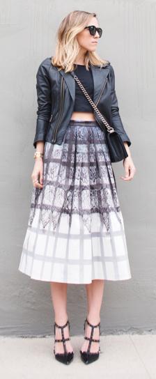 Damsel In Dior Midi Skirt