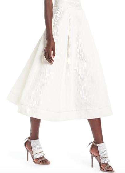 Nordstrom Midi Skirt