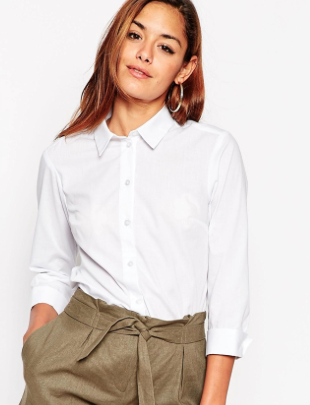 Button-Down Blouse