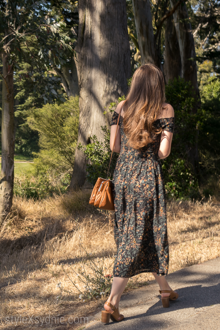 Summer, Dresses, Floral Dress, flowers, san francisco, golden date park, sunglasses, hair, fashion, style, blogger, fashion blogger, ootd