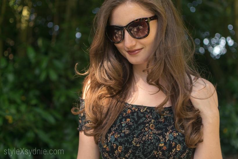 Summer, Dresses, Floral Dress, flowers, san francisco, golden date park, sunglasses, hair, fashion, style, blogger, fashion blogger, ootd