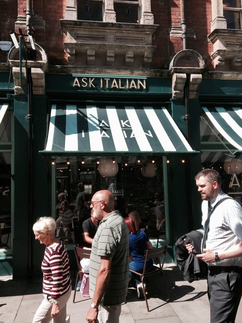 Cardiff, ask italian, food, wales