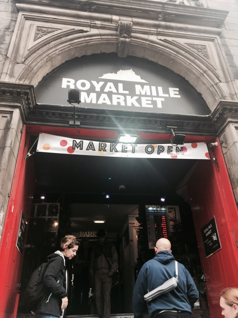 royal mile market Edinburgh