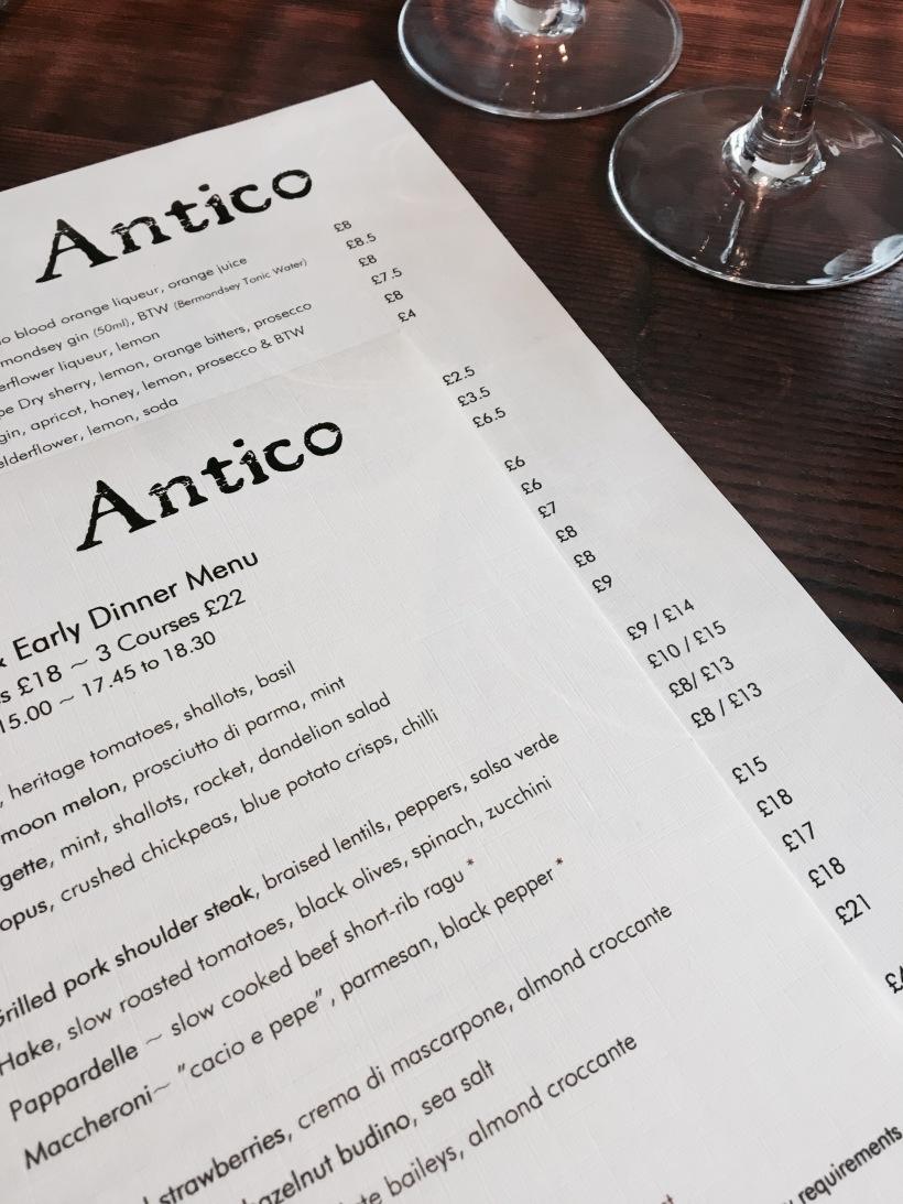 London, Antico, Pasta