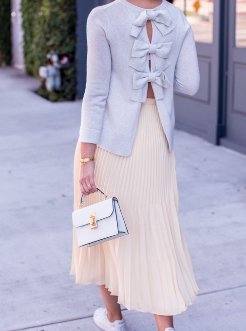 Late Afternoon, Pleated Skirts