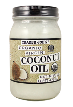 coconut oil, trader joe's, winter skin care