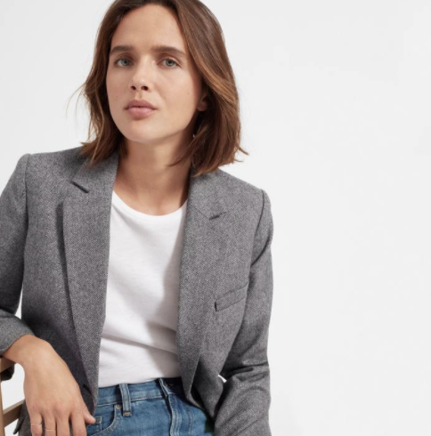 blazer, everlane, professional, interview