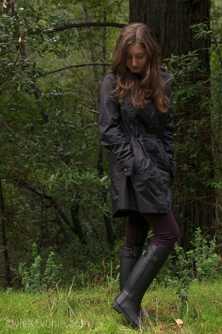 hunter rain boots, rain, rain boots, norcal, santa cruz, winter, raincoat, blogger, fashion, ootd, style, cold
