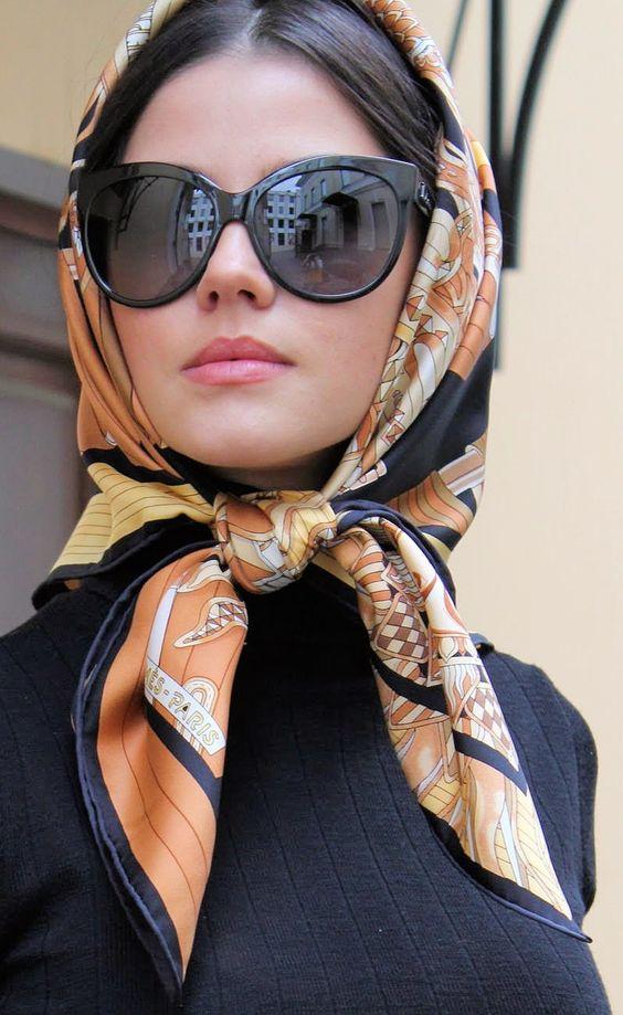 Silk Scarves, Paris