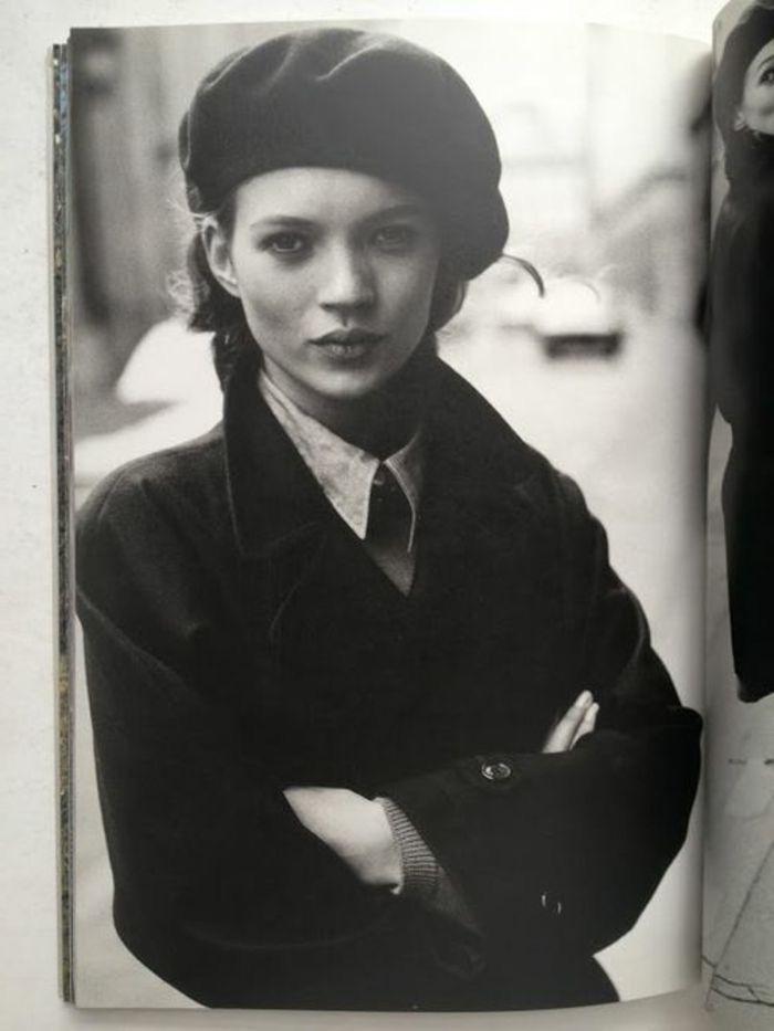 beret, vintage style