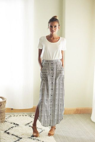 long skirts, spring, fashion, vintage, trendy