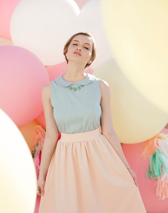 pastels, spring trends, color