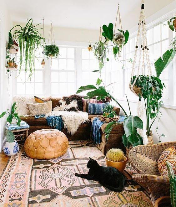 spring, decor, plants, homes, green, april