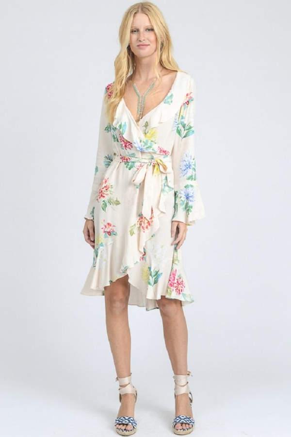 spring dresses, pastel, floral
