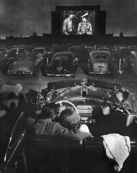 drive-in, movie