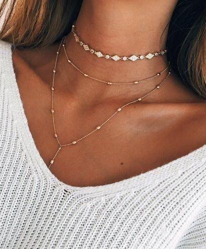 jewelry, layered jewelry
