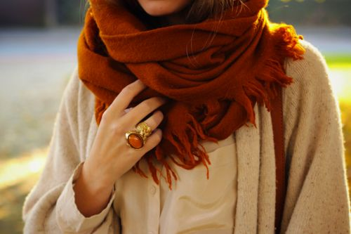 fall, scarves